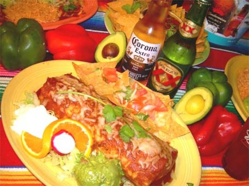 Wall Of Food Awards; Los Patios Big Burrito Mexican Food San Clemente ...