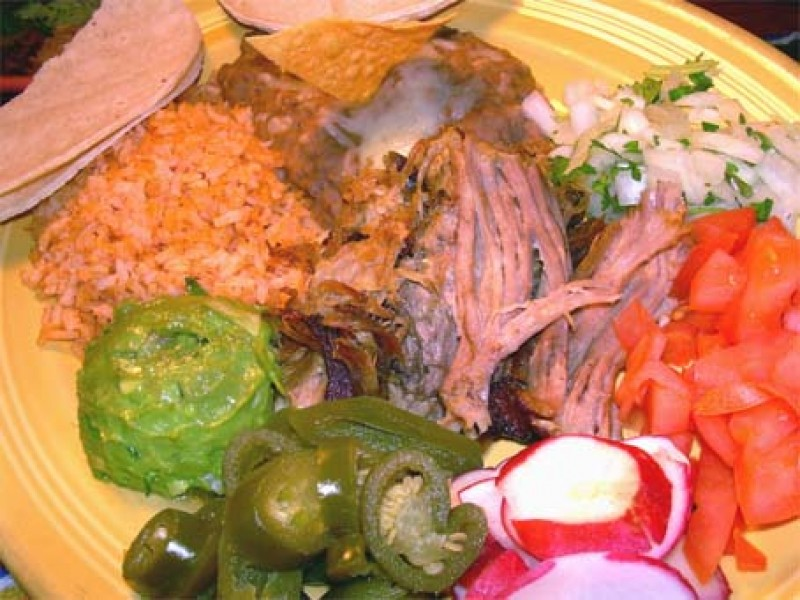 ... Create Your Own Carnitas At Los Patios Mexican Food San Clemente