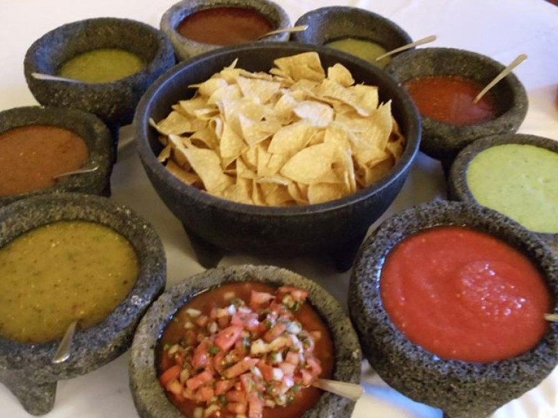 Catering Salsa Display