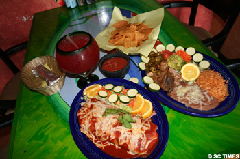 Nice SC TIMES Restaurant Review: Los Patios Mexican Restaurant