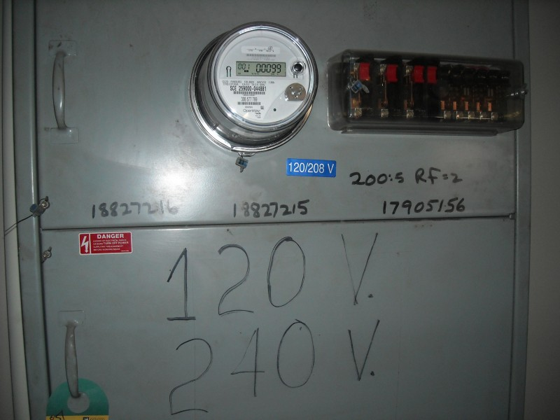 Main Switch In Industrial Building we added 200 Amp Sub Panel for Heat Tech in Placentia