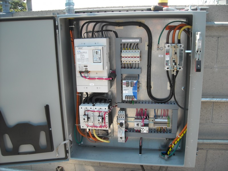 Finished Motor Control with 400AMP 480V Digital Controller Wilmington CA